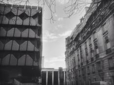 Clash of architectural styles.